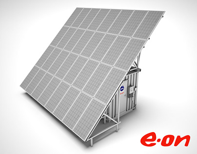 E.ON Solar Container - 3D presentation (2016)