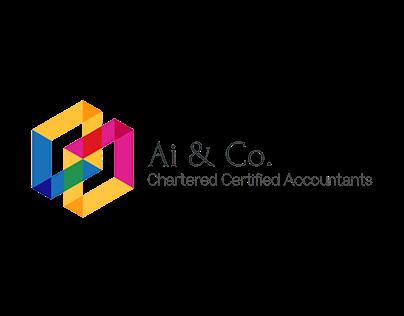 AI Accountants Logo Design