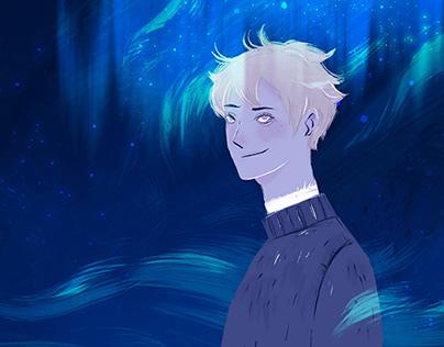 他 Him// Short Illustrations