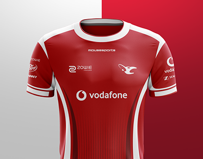 Mousesports   Official Jersey 2018/1