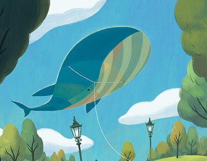 Whale Kite