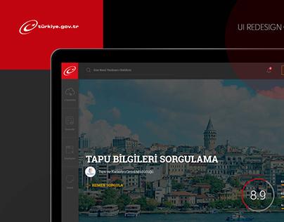 e-Devlet Redesign Concept