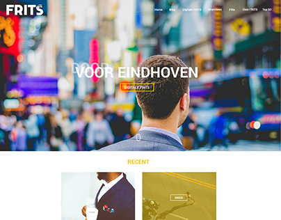 FRITS - Website design