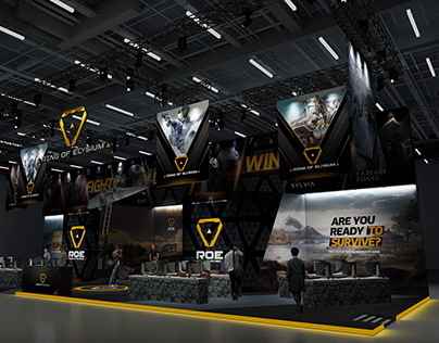 2019 ROE Gamescom Exhibition Booth