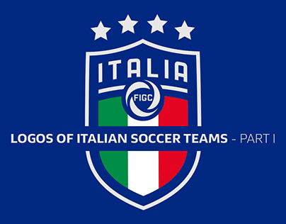 LOGOS OF ITALIAN SOCCER TEAMS - PART I