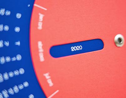 Calendário permanente | 2020 – 2047