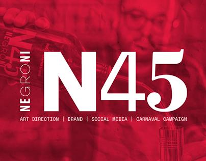 Art Direction - N45 Negroni