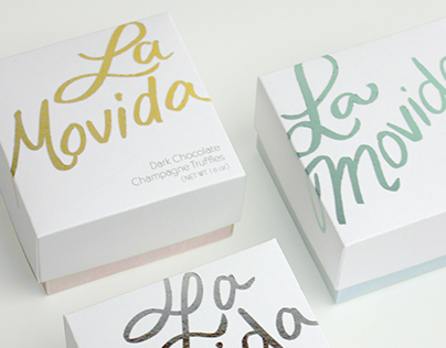 La Movida Chocolate Packaging