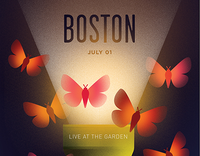 Live at the Garden Poster Series