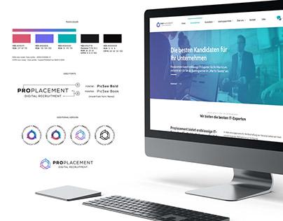 ProPlacement - Digital Recruitment - 2020 - Branding