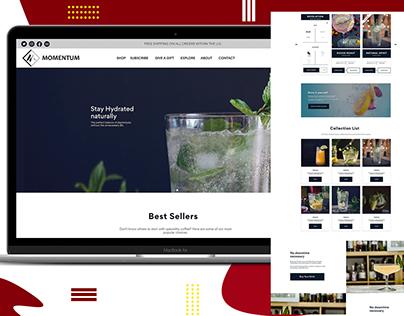 WEB DESIGN || MOMENTUM
