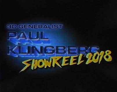Paul Klingberg Showreel 2018