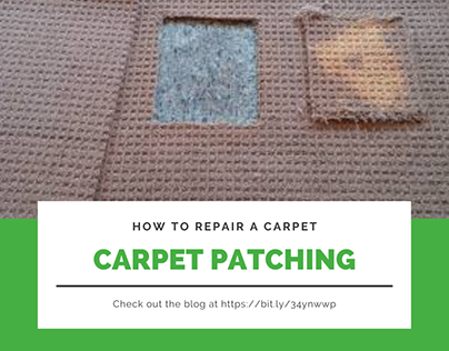HOW TO REPAIR A CARPET WITH CARPET PATCHING