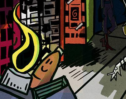 CBGB Ilustration Work