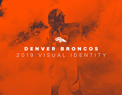 2019 Denver Broncos Visual Identity