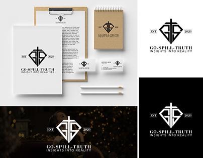 Go spill truth Logo Design Branding