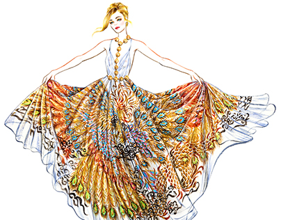 Cannes Film Festival: Red Carpet Glamour Illustrated