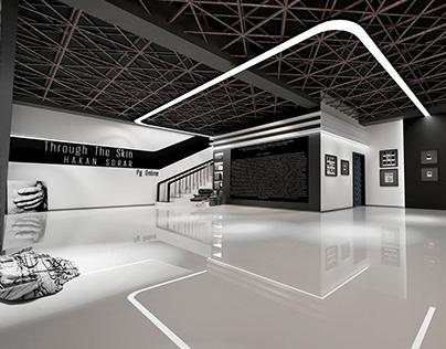 360 VR Exhibition for Hakan Sorar, Through The Skin