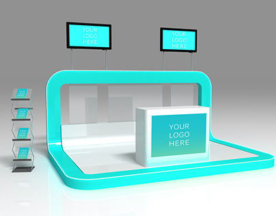 Exhibition Stand Design Mockup