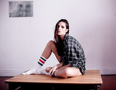 flor. a model test for Lo mgmt agency. styled by Ivana