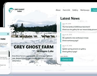 Grey Ghost Farm Website