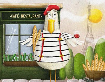 Parisian Gull