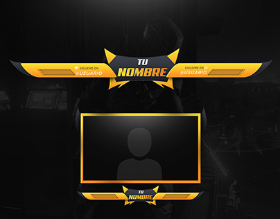 Twitch/Youtube facecam and overlay design