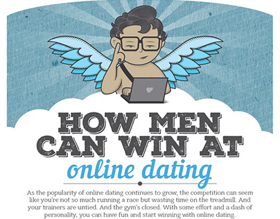 How man can win at online dating