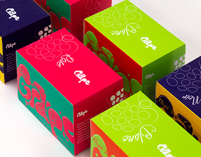 Grape Fruit Leather & Juice Blend: Branding Concept