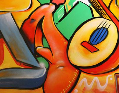 MADRIZ Mural