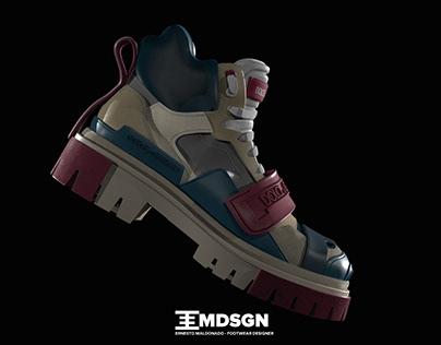 Dolce e Gabbana 3D Trekking Boot