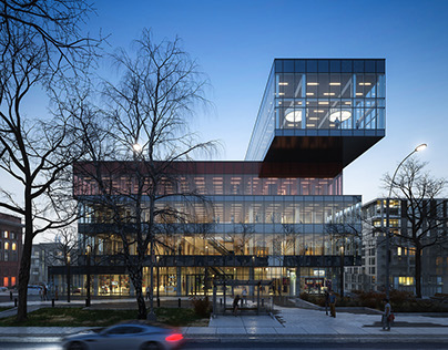 Halifax Library in Canada