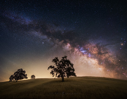California Milky Way:The Edge of Perception
