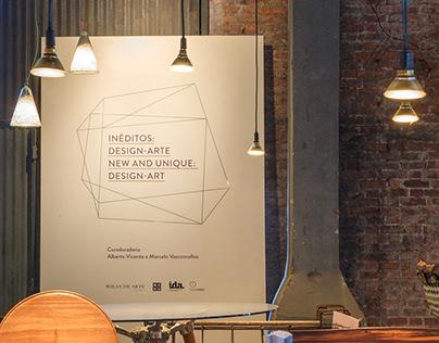 Expo Inéditos: Design-arte / New and unique: design-art