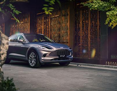 PR-Shooting for Aston Martin in Beijing. DBX.
