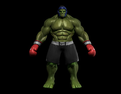Kickboxer Hulk