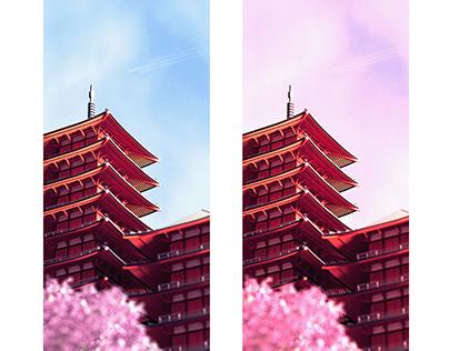 Japanese Pagoda.