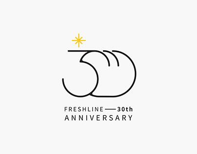 FreshLine 30th Anniversary 飛士蘭30週年活動視覺