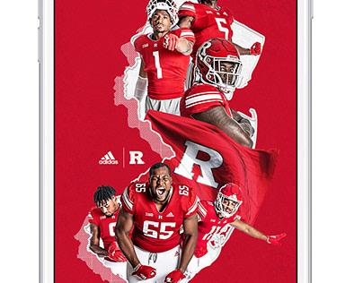2018 Rutgers Football Poster