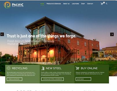 Pacific Steel & Recycling: Web, Social, Digital