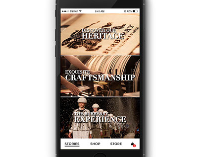 Burberry: Digital Experience App