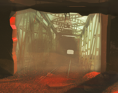 Old bridge/environment art/concept