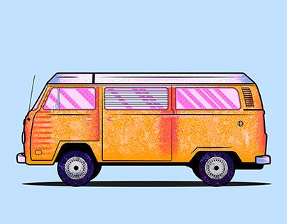 Volkswagen_Car Illustration