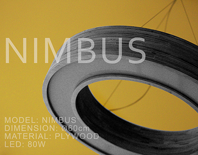 "DZZZ lighting and decoration. Model ""NIMBUS"""