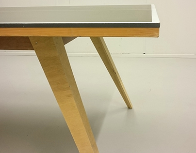Table tennis desk