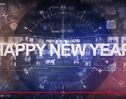 New Year Promo Video by Alvy_vfx
