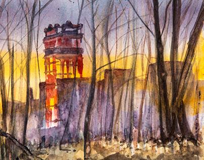 Paintings and sketches of North Tonawanda, NY