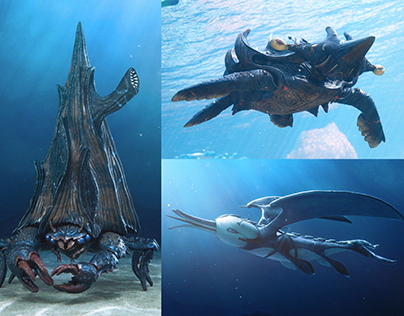 Beyond The Waves Creatures