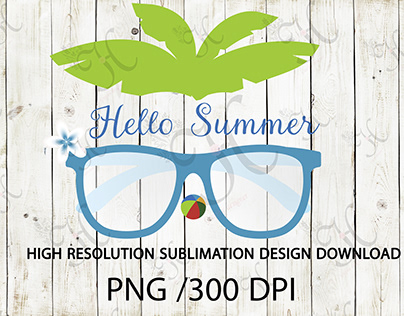 hello summer png