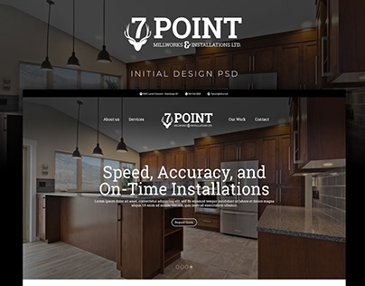 7 Point Millworks Website Redesign